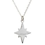 Collar estrella polar en plata