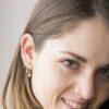 Pendientes ear cuff sierra, pendientes bolita, pendientes aro con zirconita y pendientes aro con estrella plata bañada en oro