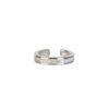Pendientes ear cuff zirconitas en plata Unidad