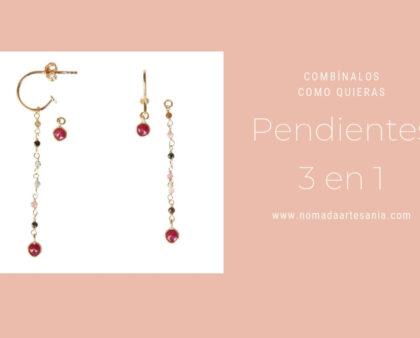 Pendientes 3en1