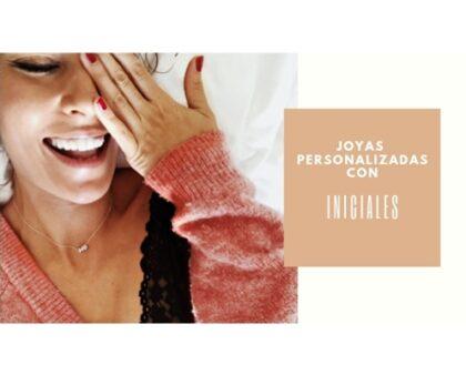 Joyas Personalizadas con iniciales