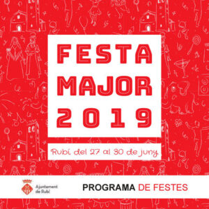 Fiesta Mayor de Rubí 2019 - Programa