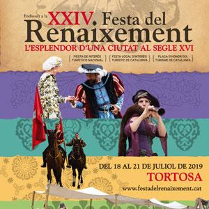 Festa del Renaixement de Tortosa 2019 cartell blog