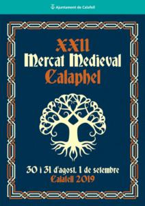 Mercado Medieval Calafell programa