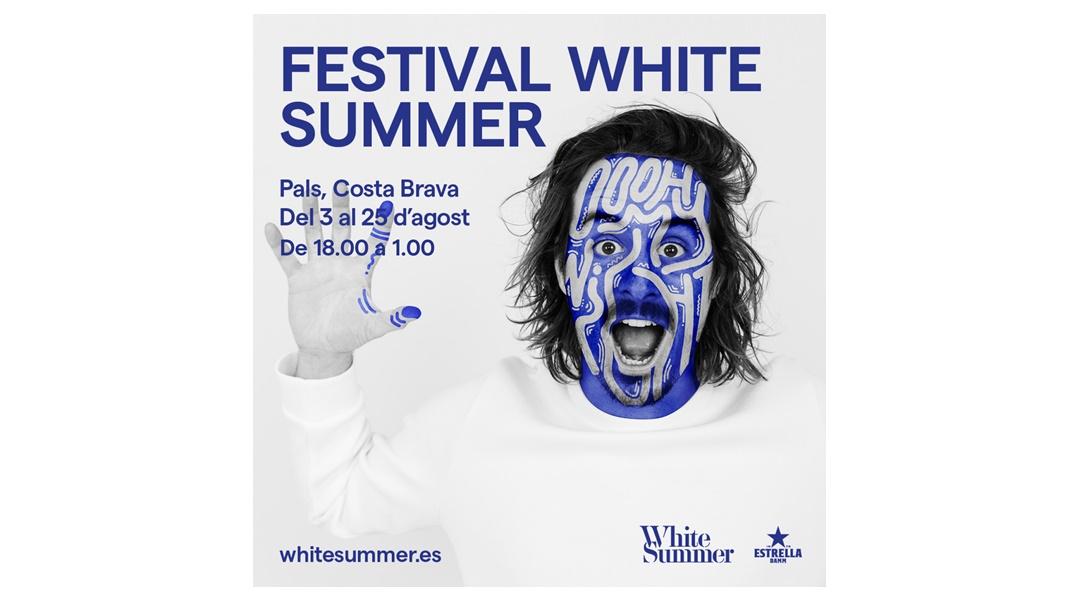 Festival White Summer Costa Brava 2019 a Pals (Girona)