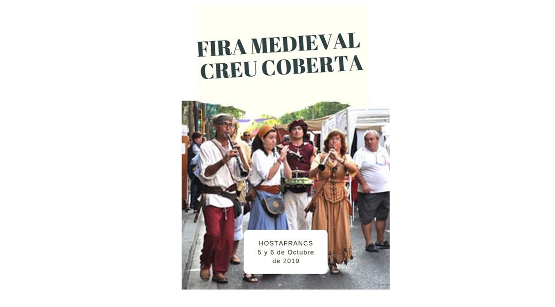 Feria Medieval de Creu Coberta en Barcelona 2019