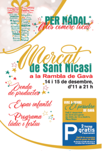 Mercado de Sant Nicasi cartell blog
