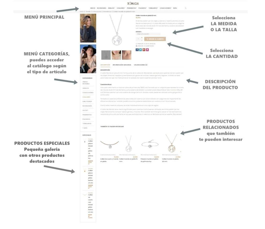 cómo comprar figura 2 página de producto