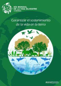 día mundial de la naturaleza 2020 poster